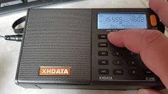 WJHR Milton Florida in 15555 kHz USB on XHDATA d808 receiver