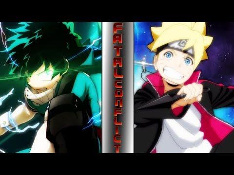 Izuku Midoriya Vs Boruto! (My Hero Academia Vs Naruto)    ⚠️ FATAL CONFLICT ⚠️