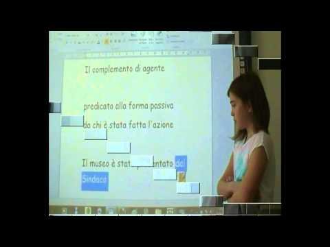Italiano - grammatica a scuola