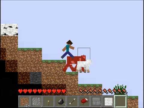 Paper Minecraft - 2D Minecraft Game In Browser