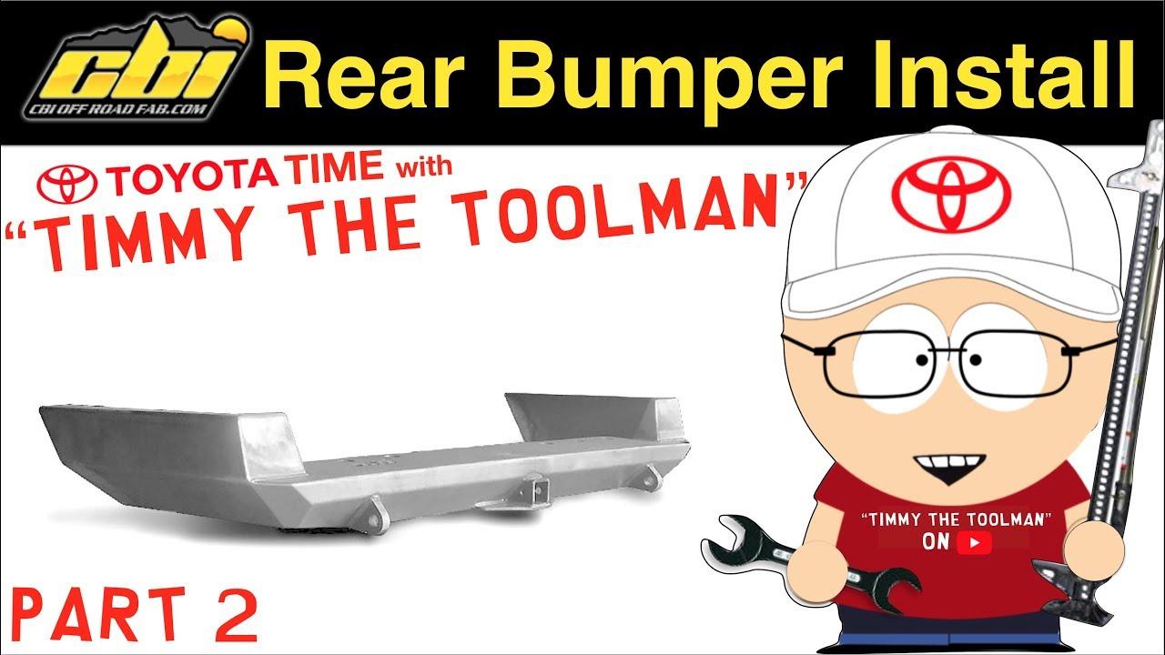 Cbi Dual Swing Arm Rear Bumper Install Part 2 Youtube Keeper Trailer Wiring Harness
