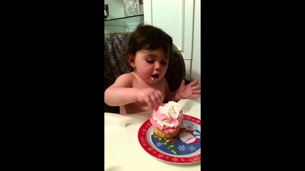 Best Baby Smash Cake 1 year old Happy Birthday Raegan YouTube