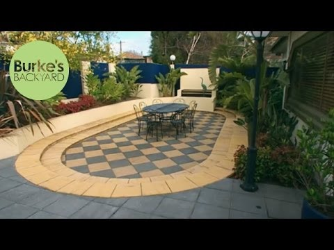 burke 39 s backyard art deco garden youtube. Black Bedroom Furniture Sets. Home Design Ideas