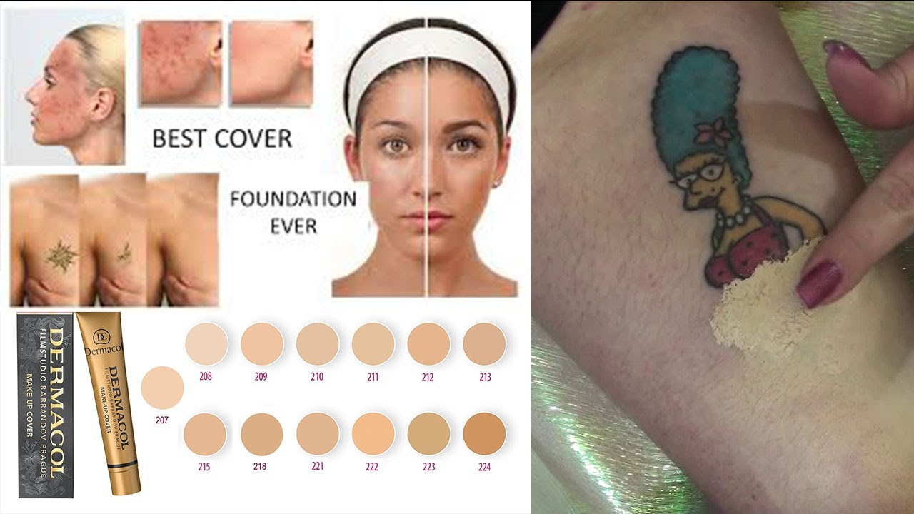 Revue Demo Dermacol Make Up Cover The Best