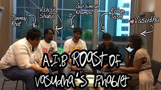 AIB Roast of Vasudha's Phablet in Singapore