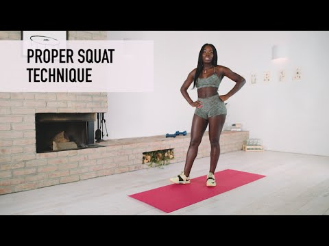 How To Squat Properly - The Perfect Form & Technique by Brittne Babe