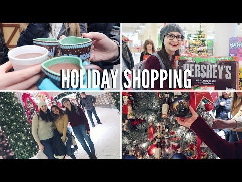HOLIDAY SHOPPING IN CHICAGO | Target, Macy's, Disney Store & More!