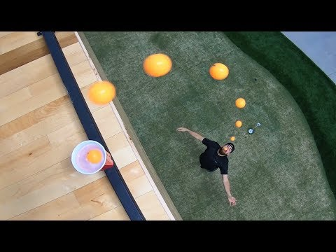 Ping Pong Trick Shots 5 | Dude Perfect