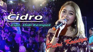 Cidro (Cipt. Didi Kempot) Cover Putri Kristya KMB MUSIC live Sambirejo Sragen