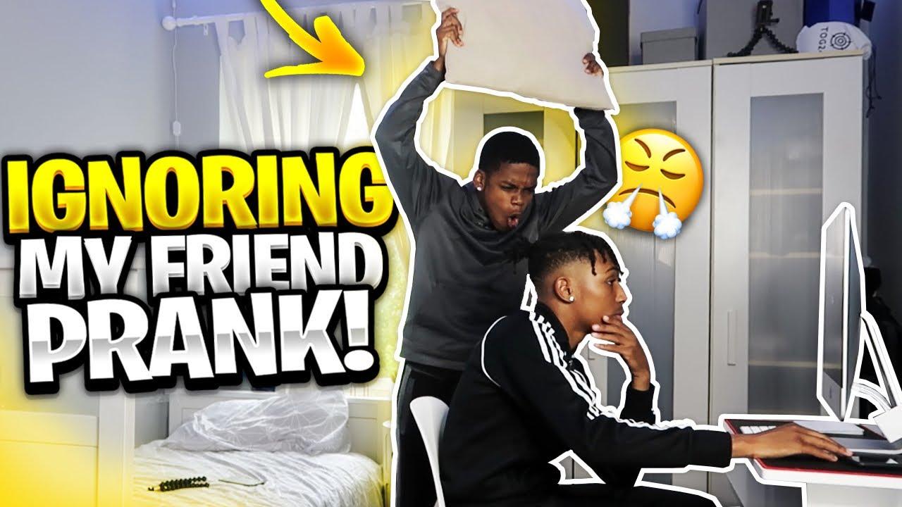 IGNORING MY ANNOYING FRIEND PRANK! 😂FT Mkfray