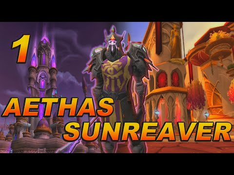 The Story of Aethas Sunreaver - Part 1 [Lore]