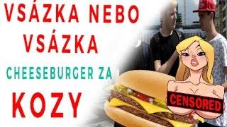 #1 Sázka nebo Sázka   Cheeseburger za prsa?! /w Fayne