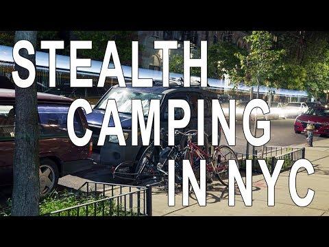 New York City! Van Life Urban Stealth Camping In Manhattan