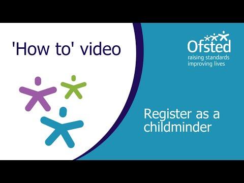 Register As A Childminder