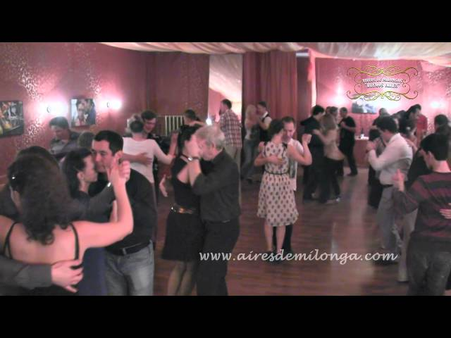 San Petersburgo, Tango Vivo, milonga, tango en Rusia