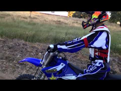 Yamaha yz 125 First ride!