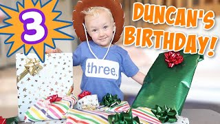 Duncan's 3rd Birthday Special