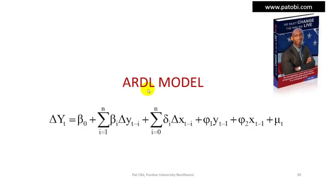 Autoregressive Distributed Lag (ARDL)