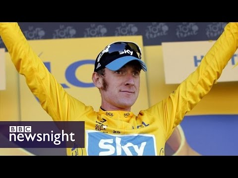 Questions over Bradley Wiggins' drug use - BBC Newsnight