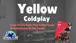 Yellow | Trinity Rock/Pop Initial Grade | Drums