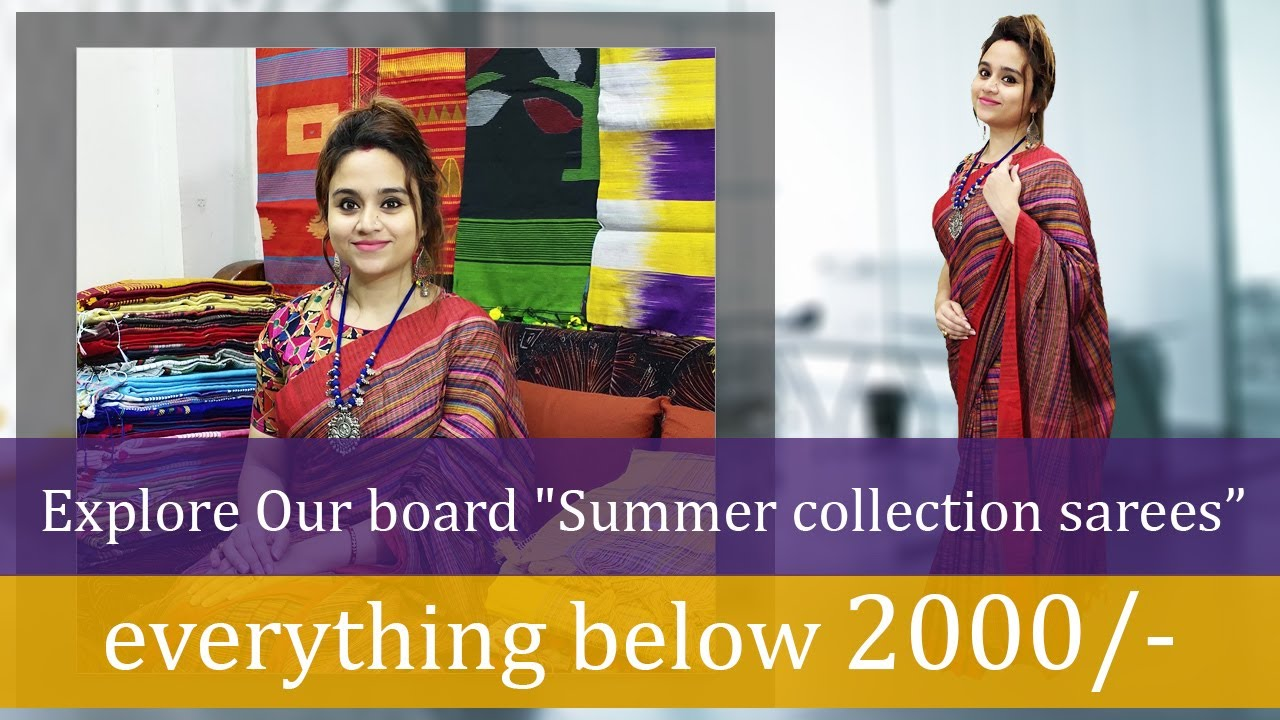 Everything Below ₹2000 Summer Collection Sarees 💖 For Your Daily & Office Wear (06th July) - 4JR