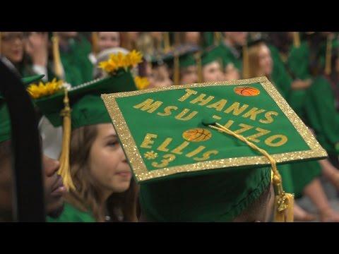 Michigan State Graduation: Class of 2017