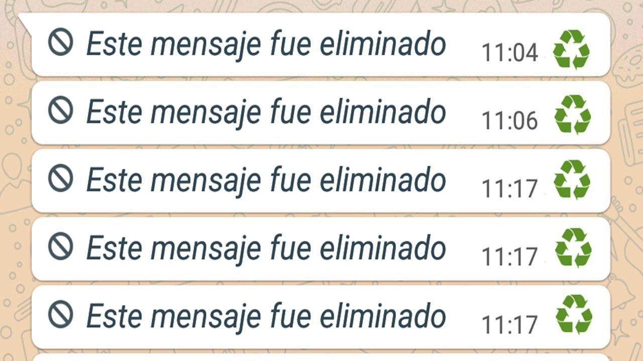 El Truco De Whatsapp Para Leer Cualquier Mensaje Eliminado 2020
