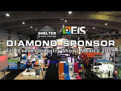 SHELTER - the diamond sponsor of EIS (Event Industry Show) Mexico 2019