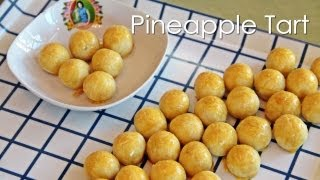 Pineapple Tart - Chinese New Year - Recipe by ZaTaYa Yummy