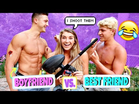 BOYFRIEND VS. BEST FRIEND Paintball Edition