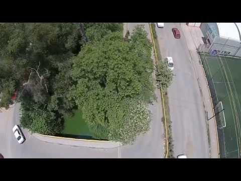 Video Dron Rinconada San Miguel Santa Rosa Cuautitlán Izcalli Mexico Agosto 30 2015 / 1