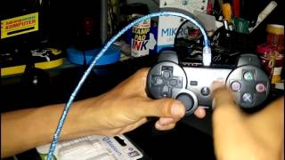 Cara pakai controller wireless stick ps3 ke pc via bluetooth Ft. Bung Bigthing