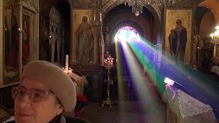 Воскресное богослужение 23/12/2018 года в Русском храме в Афинах