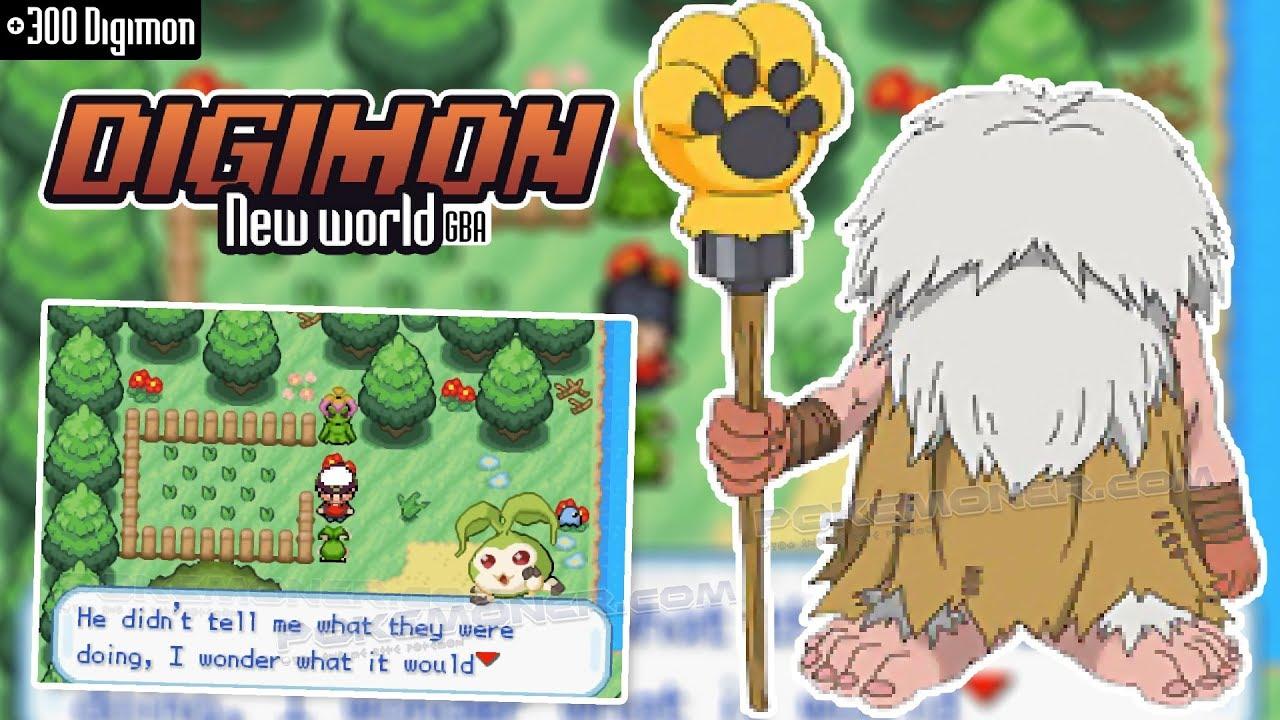 [GBA] Digimon New World - +300 Digimon inGame│Pokemoner com