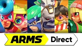 ARMS Direct - Nintendo Direct Presentation 5/17/17!