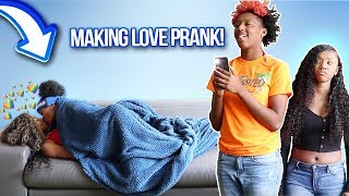 Making Love w/ My Girlfriend While Company In The Room *PRANK*!!