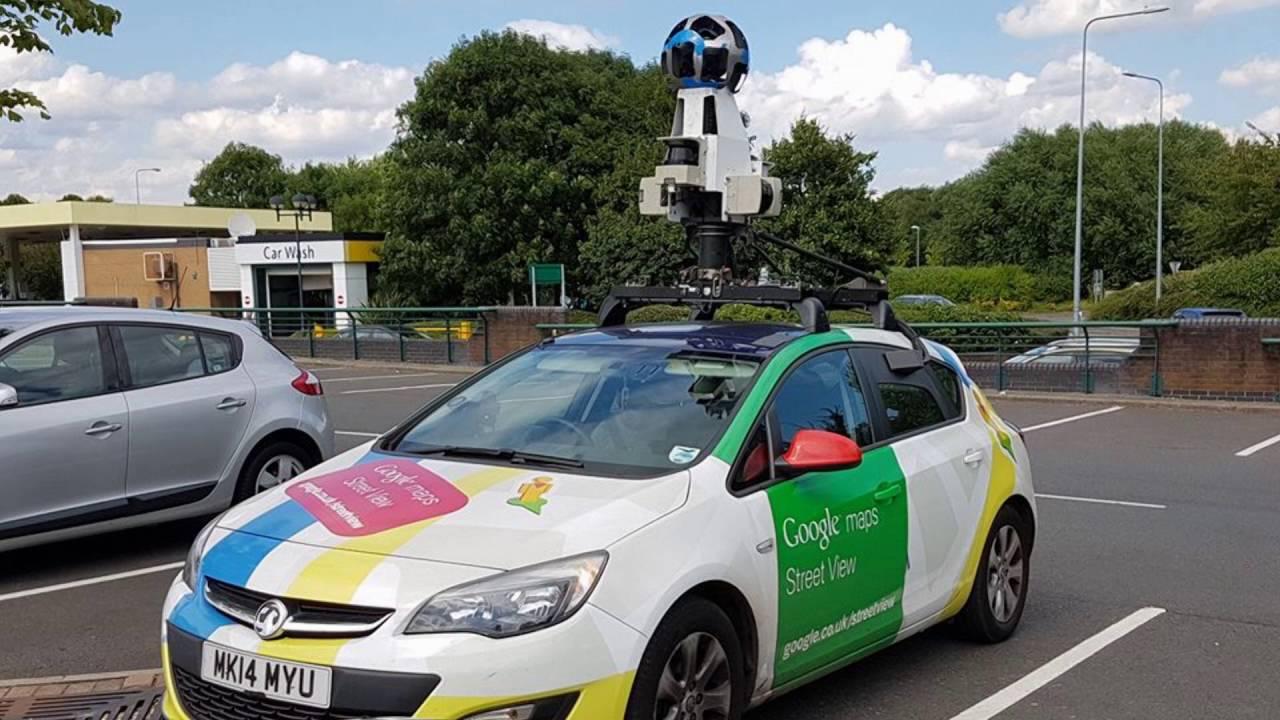Google Maps Street Level Camera Car YouTube