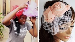 HOW TO MAKE A FASCINATOR HAT |  EASY 2019 STEPS AND TIPS | HOW TO TV