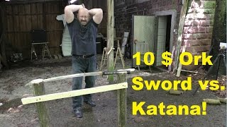 Katana Mythbusting Extreme(Note: This is not degrading Katanas in, Tameshigiri athletes and certainly not Japanese swordmakers. It is just a bit of Katana mythbusting, is all., 2016-06-22T17:16:56.000Z)