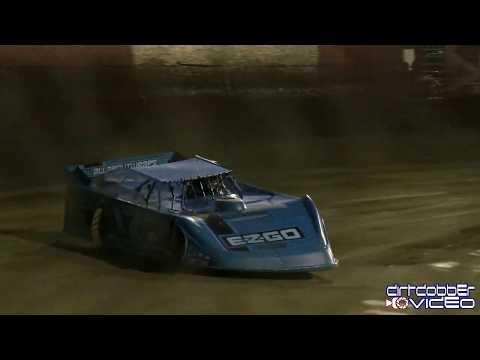 Logan Roberson  Lucas Oil Late Model Dirt Series Qualifying East Bay Raceway Park, 2/3/20