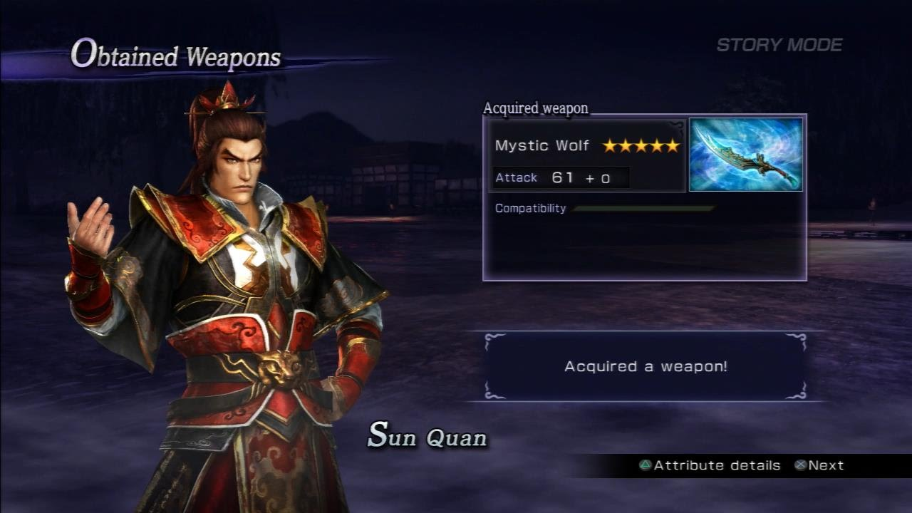 how to get mystic weapons in warriors orochi 3
