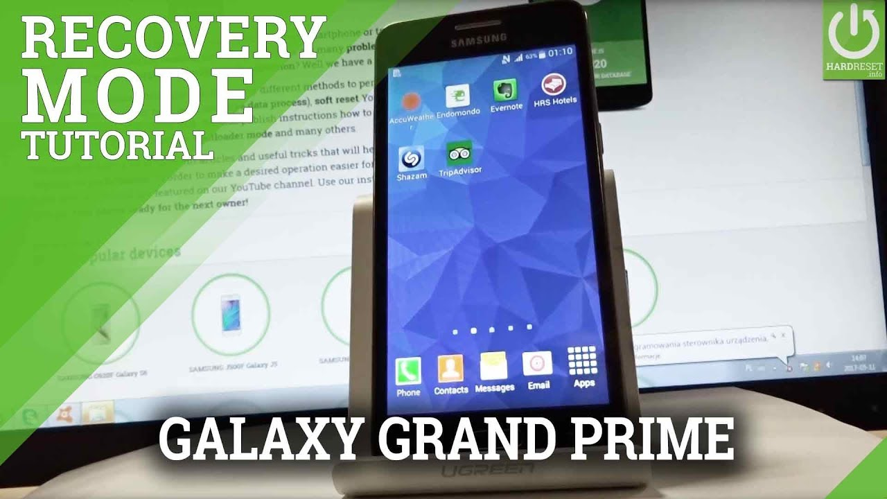 Recovery Mode SAMSUNG G532F Galaxy Grand Prime Plus - HardReset info