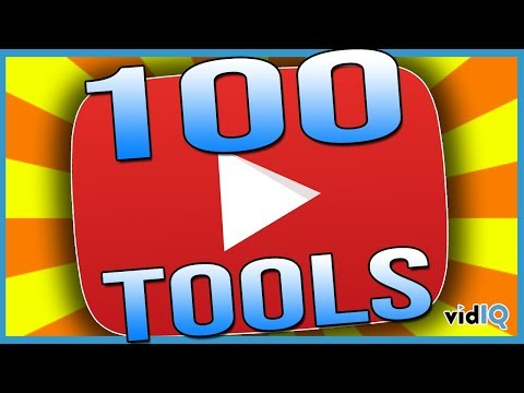 100 YouTube Tools For More Views and Subscribers