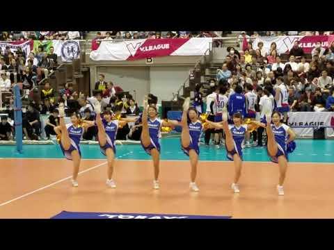 2016 東レ アローズ チアガール 女子バレー