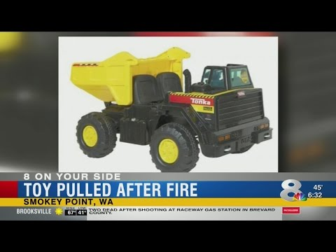Toys 'R' Us Recalls Tonka Truck After Toy Catches Fire