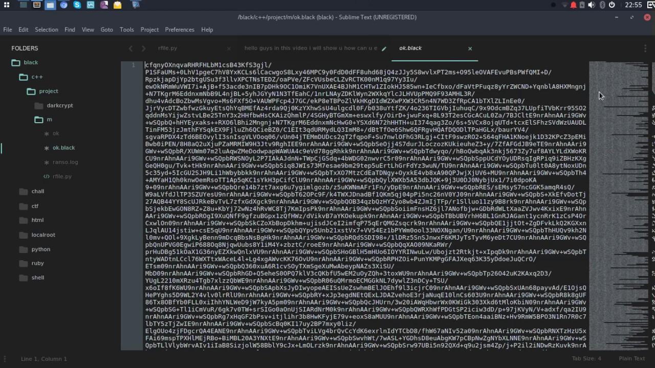 Encrypt/Decrypt file in python