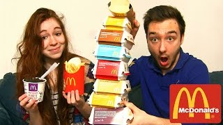 Dégustation McDonald's en Couple ! TOUT LES BURGERS ! BIG MAC, CHEESE BURGER , Mc FLURRY !