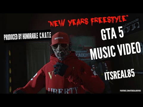 """GTA 5 MUSIC VIDEO: BLOODY FREDDY """"NEW YEARS FREESTYLE"""" (ITSREAL85VIDS)"""