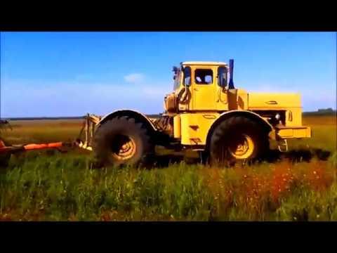 """Импровизированный клип на песню """"Еду я на тракторе"""""""