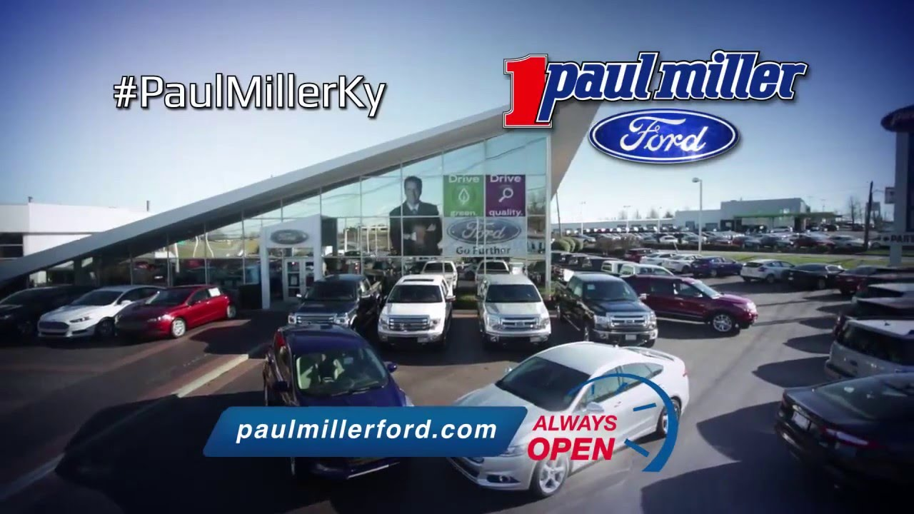Paul Miller Ford >> Paul Miller Ford Match Up Sales Event Youtube